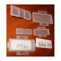DATACOM Označovací štítek MALÝ 30x8mm 100pack