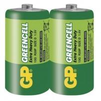 GP D Greencell, zinko-chloridová - 2 ks, fólie