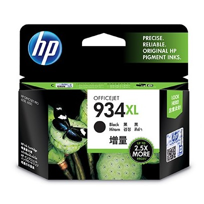 HP C2P23AE Ink Cart No.934XL pro OJ Pro 6830,1000str., Black