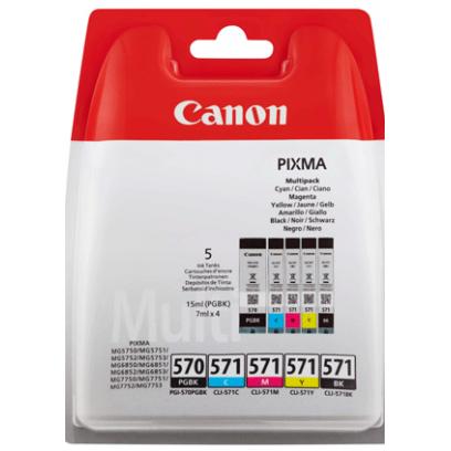 Canon cartridge PGI-570/CLI-571 PGBK/C/M/Y/BK MULTI