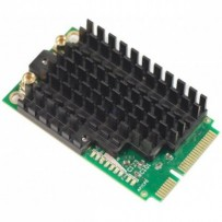 MikroTik RouterBOARD R11e-2HPnD 802.11b/g/n High Power miniPCI-e card with MMCX connectors