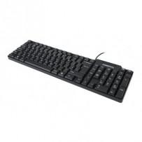 OMEGA klávesnice OK05 standard CZ, USB, černá