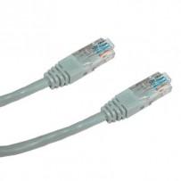 DATACOM Patch cord UTP CAT6 0,25m šedý