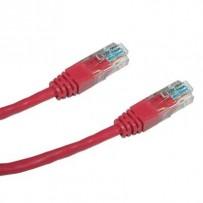 DATACOM Patch cord UTP CAT6 0,25m červený
