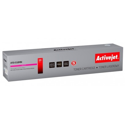 ActiveJet toner OKI C5xx Magenta NEW 100% - 5 000 str. ATO-510MN