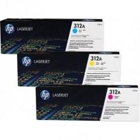 HP CF440AM Toner 312A pro LJ Pro M476dn, M476dw, M476nw, (3x2700str), CMY CF381A-383A