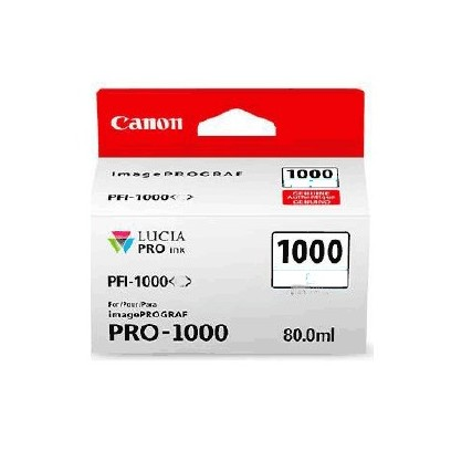 Canon cartridge PFI-1000 MBK Matte Black Ink Tank