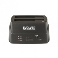 EVOLVEO HDD dokovací stanice, USB 3.0 , 1x HDD do 4TB nebo 2x HDD do 3TB
