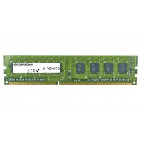 2-Power 4GB MultiSpeed 1066/1333/1600 MHz DDR3 Non-ECC DIMM 2Rx8( DOŽIVOTNÍ ZÁRUKA )