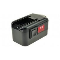 2-Power Baterie do nářadí 18 V, 3000mAh