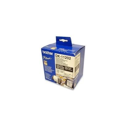 Brother - DK-11202 (papírové/poštovní štítky-300ks) 62x100mm