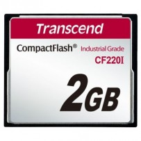 Transcend 2GB INDUSTRIAL TEMP CF220I CF CARD (SLC) Fixed disk and UDMA5
