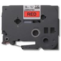 Brother - TZe-421, červená / černá (9mm,laminovaná)