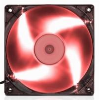 EVOLVEO ventilátor 120mm, LED červený