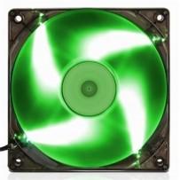 EVOLVEO ventilátor 120mm, LED zelený