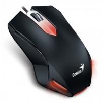 GENIUS Gaming myš X-G200/ drátová/ 1000 dpi/ USB/ černá