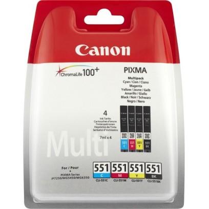 Canon cartridge CLI-551 C/M/Y/BK PHOTO VALUE sec