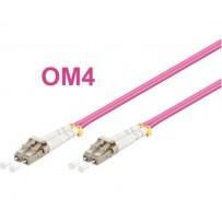 OPTIX LC-LC Optický patch cord 50/125 1m OM4 Duplex